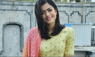 Rashmika on her break-up with boyfriend