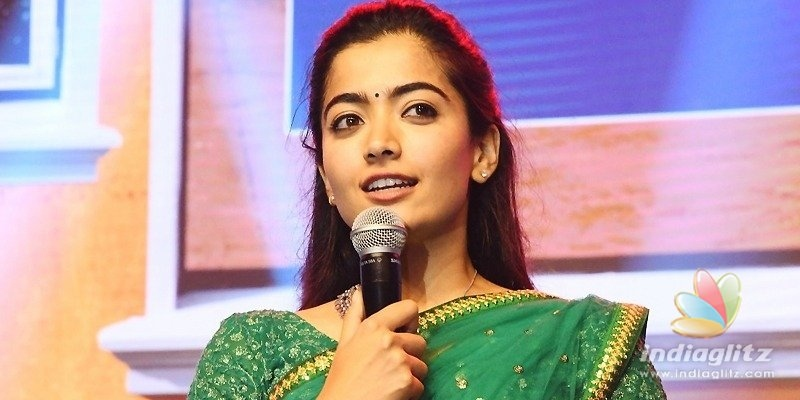 Dont watch Dear Comrade for romance: Rashmika