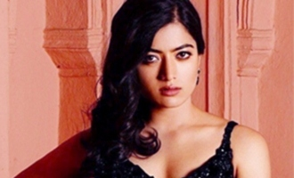 'Overworking' Rashmika has a jovial exchange with producer