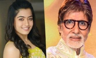 Rashmika signs a Bollywood film with Amitabh Bachchan