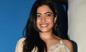 Rashmika Mandanna in Dulquer-Hanu Raghavapudi's movie?