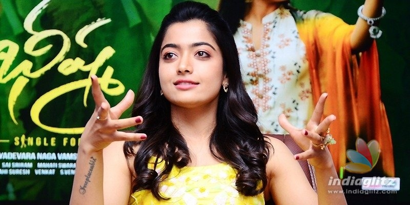 Bheeshma Is Thoroughly Enjoyable Rashmika Telugu News Indiaglitz Com