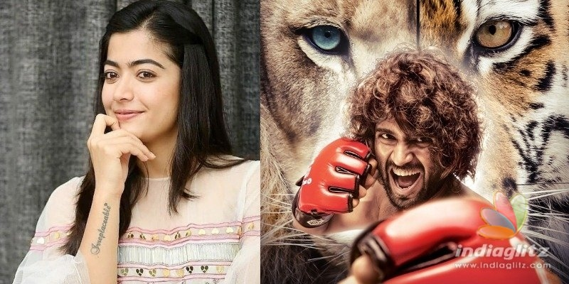 Look what Rashmika will do while watching Vijay Deverakondas Liger