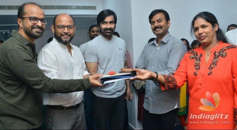 Ravi Tejas Disco Raja launched on auspicious day