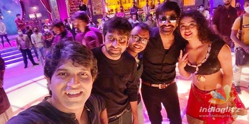 Krack: Ravi Teja, Apsara Rani shoot for a peppy song