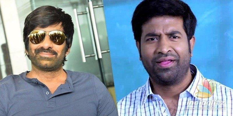 Ravi Teja, Vennela Kishore shoot for comedy scenes
