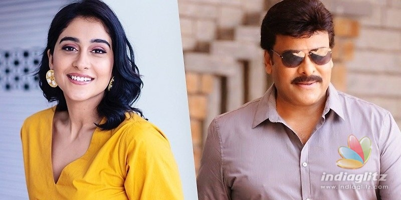 Reginas song with Chiranjeevi will be a celebration!
