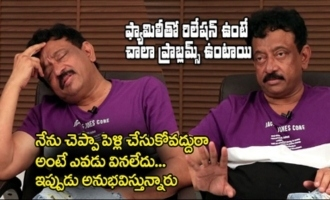 I Advised them Against Marriage : RGV
