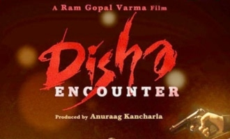 RGV unveils first look of 'Disha', announces release date