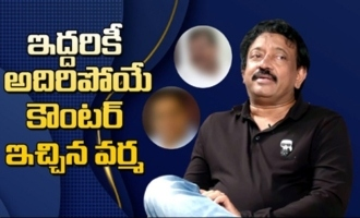 RGV's Ultimate Counter to both : Ram Gopal Varma