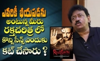 RGV responds on deleting scenes from Raktha Charitra