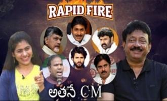 Rapid Fire - RGV about Pawan Kalyan, YS Jagan, Vijay Devarakonda, Balakrishna, Chandrababu & KA Paul