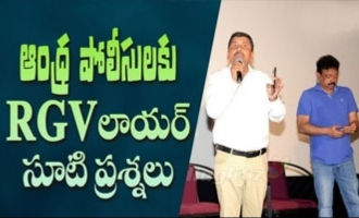 RGV's lawyer questions to Andhra Police