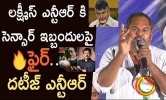 R Narayana Murthy supports RGV's Lakshmi's NTR