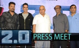 2.0 Press Meet In Hyderabad