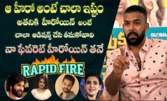 Rapid Fire -Tarun Bhasker About Vijay Devarakonda, Vishwak Sen & Samantha
