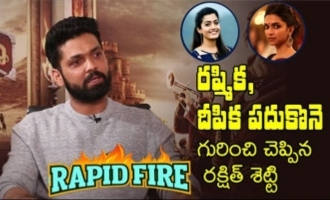 RAPID FIRE: Rakshith Shetty On Rashmika, Deepika Padukone