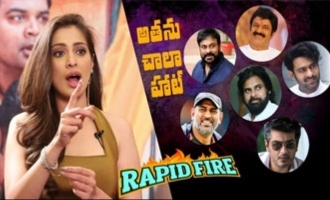 Rapid Fire Raai Laxmi on Pawan Kalyan
