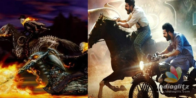 RRR poster: SS Rajamouli cant escape the copycat tag