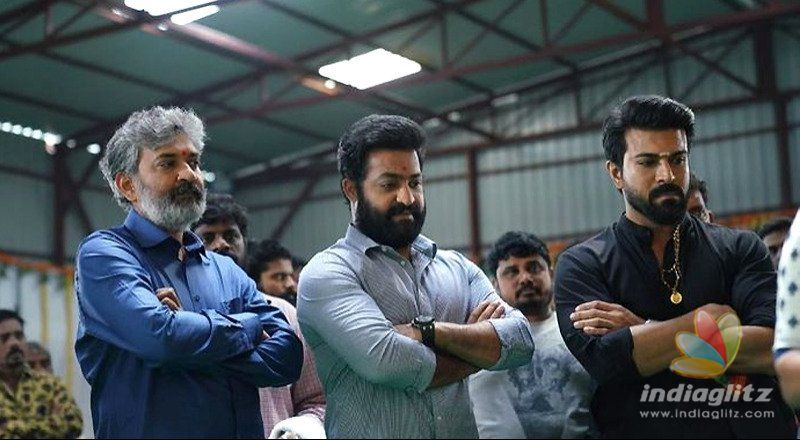 RRR movie done with high-profile schedule