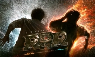 RRR Roudram Ranam Rudhiram Motion Poster is fiery power packed