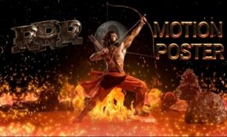 RRR Motion Poster - Ram Charan Birthday Special