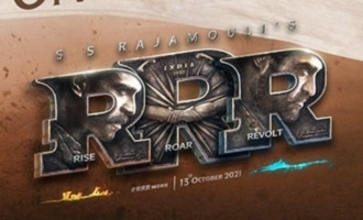 'RRR' makers to bring out a motion poster on THIS date!
