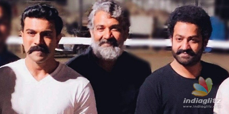 Two day test shoot by Rajamouli for RRR?