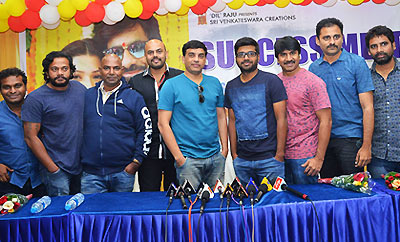 'Raja The Great' Success Meet At Vijayawada