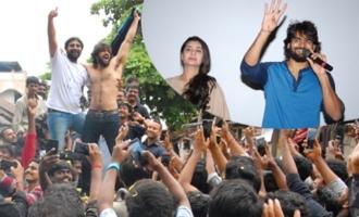 'Rx 100' Success Tour @ Ravulapalem, Palakollu and Atreyapuram