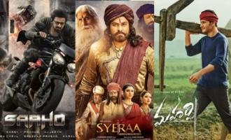 'Saaho', 'Sye Raa', 'Maharshi' make it to top list