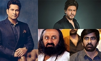 Sachin, SRK, Sri Sri, Ravi Teja & others express shock