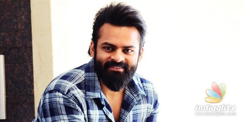 Action scenes are easier than moms work: Sai Dharam Tej