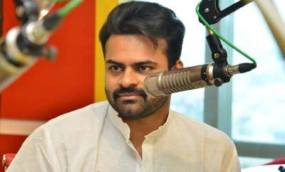 Sai Dharam Tej @ Radio Mirchi
