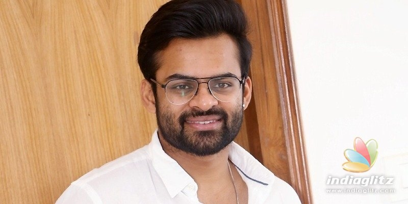 Thats why my parents got divorced: Sai Dharam Tej