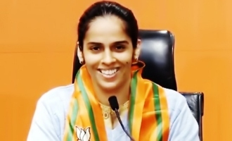 Badminton champion Saina Nehwal joins BJP