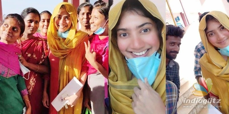 Sai Pallavi appears for medical exam, fans mob her to take selfies