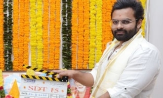 Sai Dharam Tej's 15th movie launched formally
