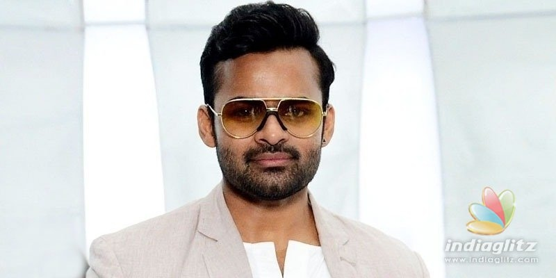 Sai Dharam Tej unveils poster of Thank You Brother