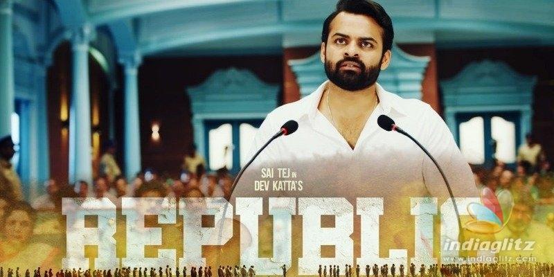 Republic Teaser: Sai Tej delivers an angsty monologue penned by Deva Katta