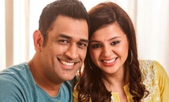Sakshis bedroom moment with Dhoni goes viral