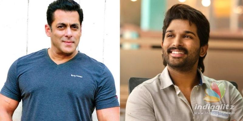 Salman Khan lauds Allu Arjun - find out why