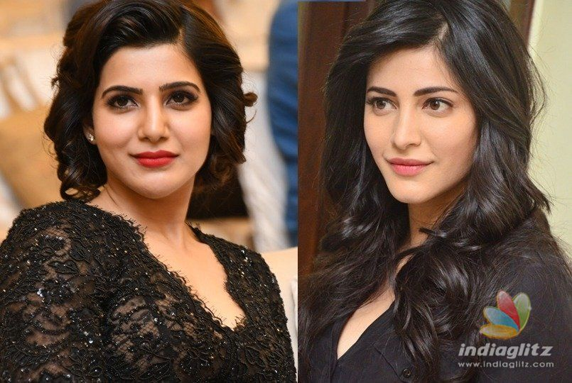 Samantha reaching closer to Shruti Haasan