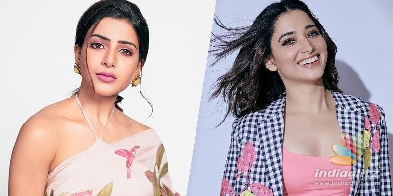 Samantha celebrates Tamannaahs 15-year stint