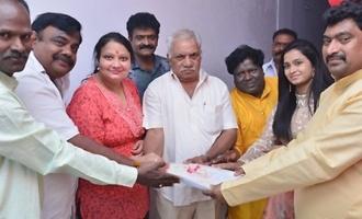 'సమాజానికో హెచ్చరిక' చిత్రం రికార్డింగ్ ప్రారంభం