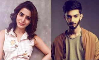 Samantha & Anirudh jive together to dance