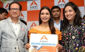 Samantha launches Azent Overseas Education centre in Hyd