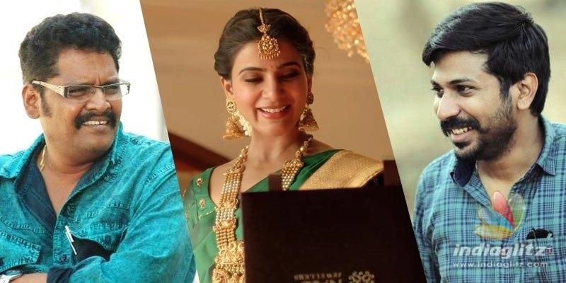 Samantha shoots for ad with PC Sreeram, Harish Ram