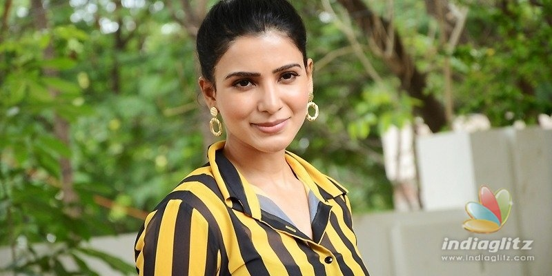 Samantha reveals her rib cage tattoo & its meaning