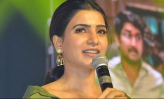 Samantha was worried about husband's film!